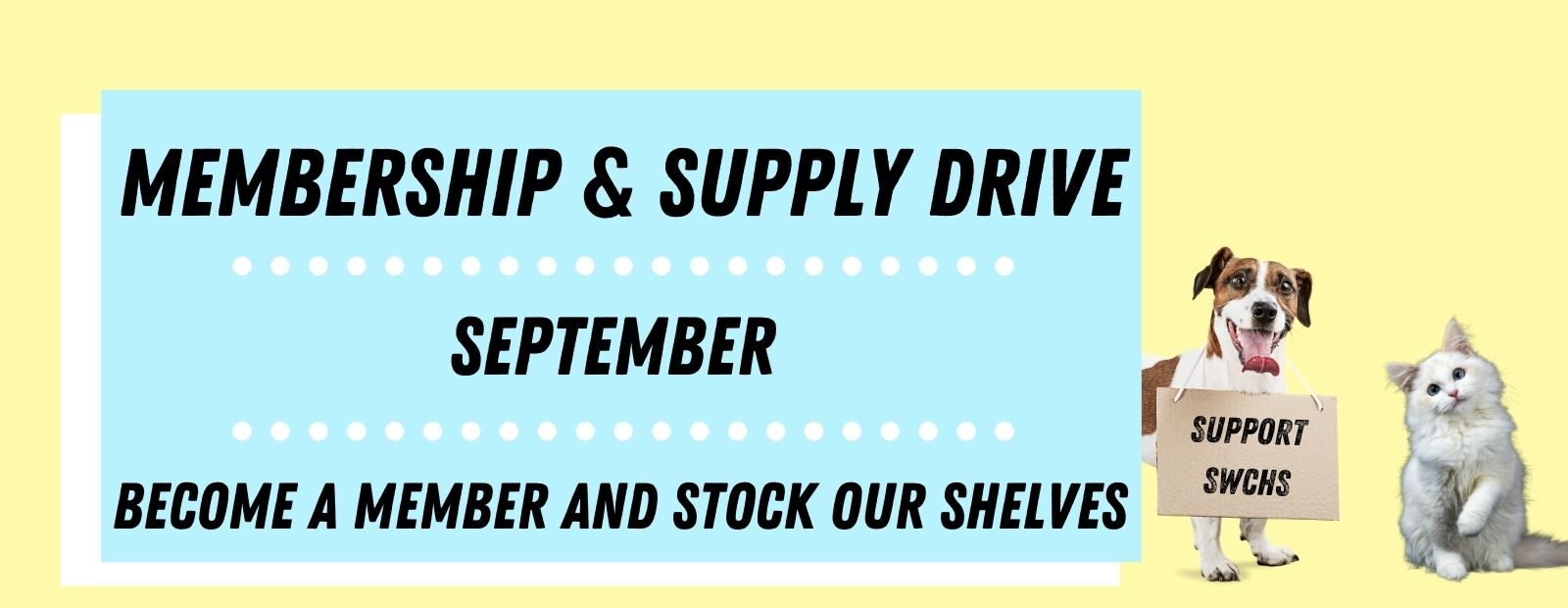 Membership & Supply Drive